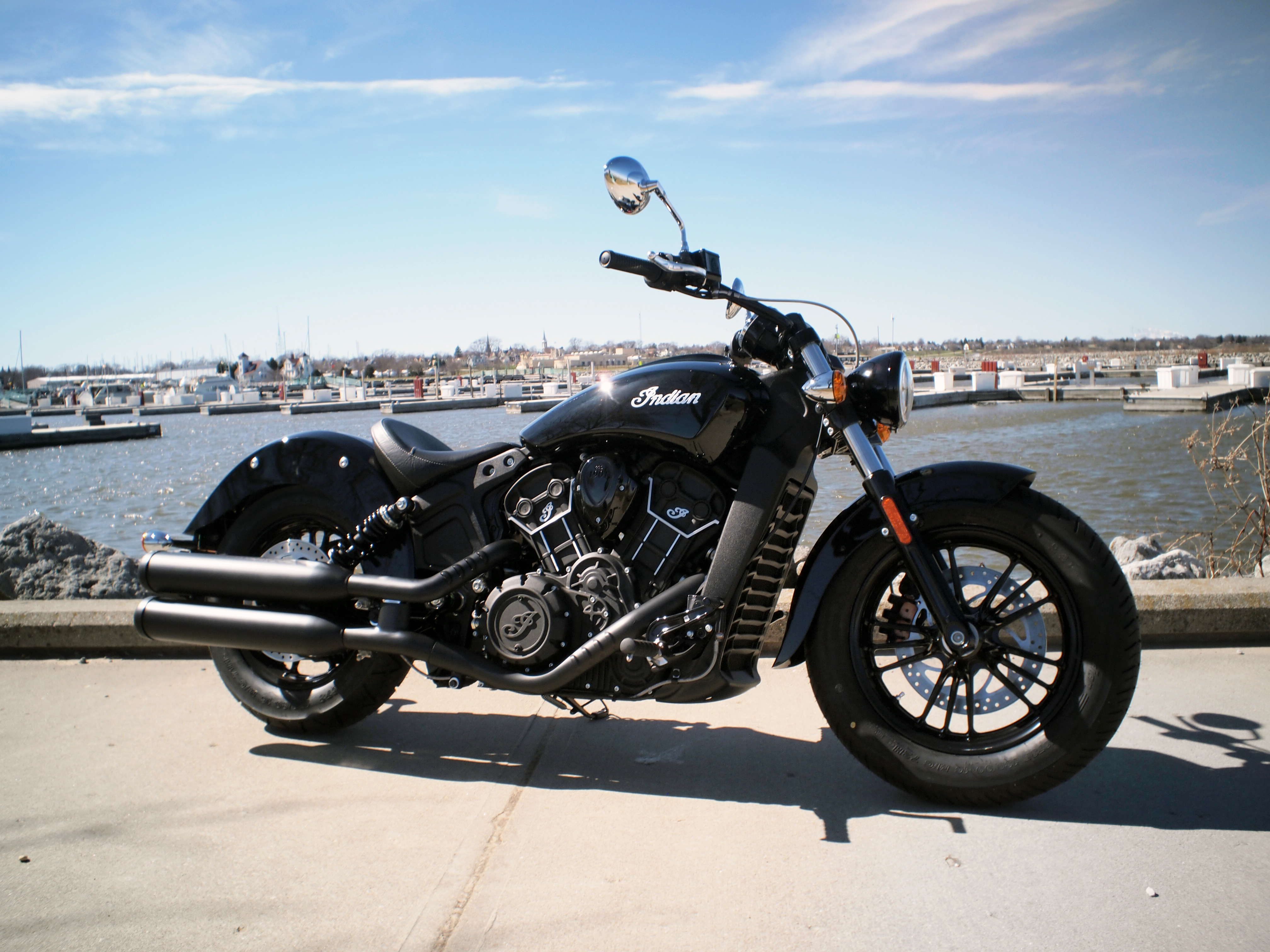 The Winner of the Indian Motorcycle is....
